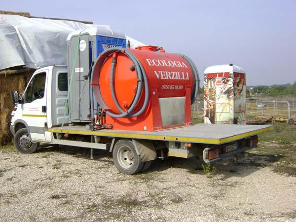 Servizi ecologia spurgo service noleggio bagni chimici e